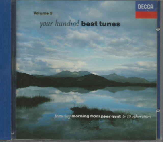 YOUR HUNDRED BEST TUNES VOLUME 3 (DECCA 425 849-2) CD FULL SILVER NEAR MINT