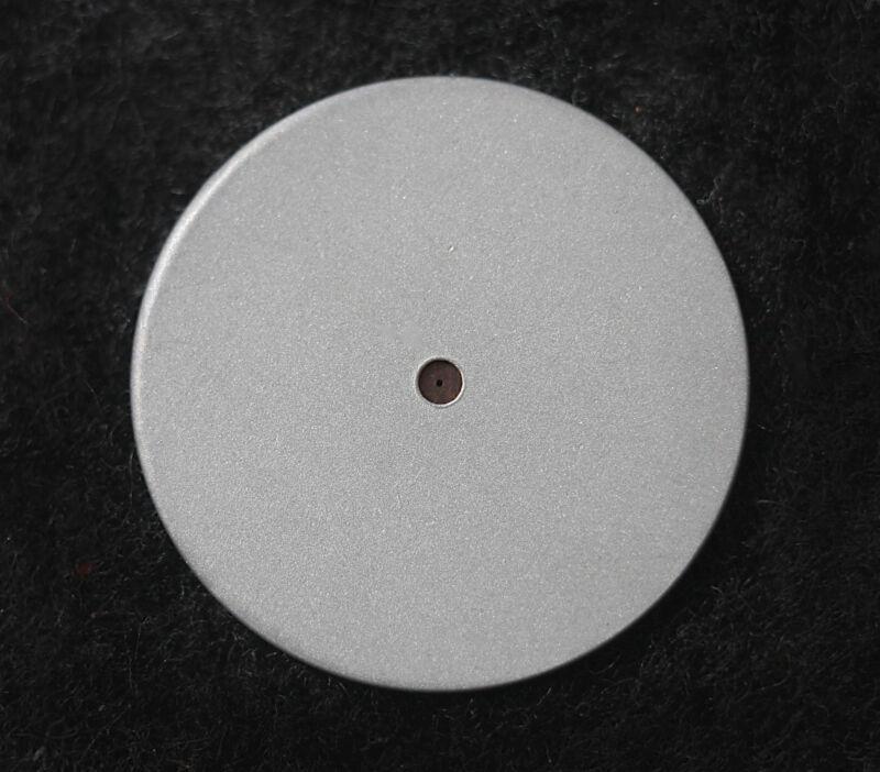 """0.05mm Laserdrilled Pinhole Large 1"""" holder for telescope foucault tester"""