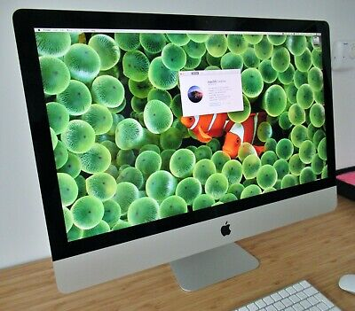 Apple iMac 27-inch, 3.2GHz quad Intel Core i5, 8GB DDR3 SDRAM, 1TB HDD (2015)