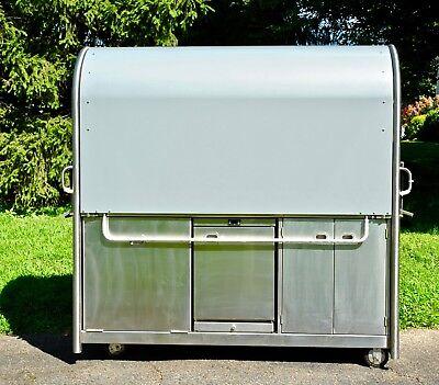 Tank Mobile Kiosk Gullwing Model Coffeefoodretail Cart 79in X 78in X 29.5in