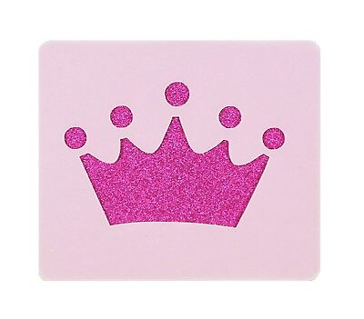 Princess Crown Face Painting Stencil 6cm x 7cm 190micron Washable Reusable](Princess Face Painting)