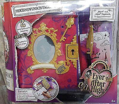Mattel Tagebuch Ever After High BGJ39 Herzenswunsch Royal, Rebel, geheimes neu