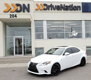 2015 Lexus IS 350 AWD F SPORT - LOW KMS