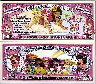 Strawberry Shortcake Cartoon Series Million Dollar Novelty - Strawberry Shortcake Cartoon