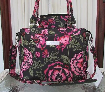 Ju-Ju-Be Diaper Bag Legacy Be Classy Blooming Romance Tote NWT