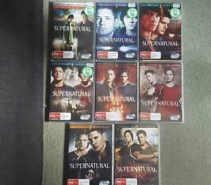 Supernatural Seasons 1-8, $15 each Pakenham Cardinia Area Preview