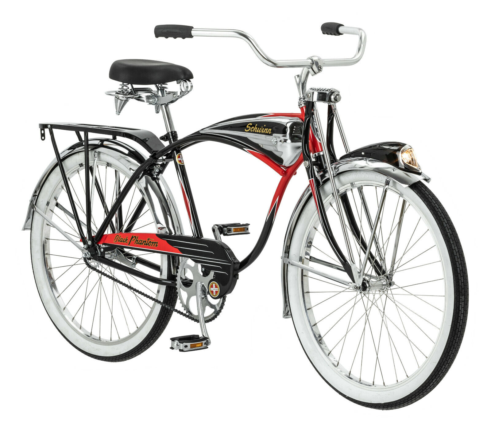 Schwinn Black Phantom Cruiser Bike, single speed, 26-inch wheels 125 Anniversary (New - 1199.99 USD)