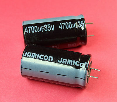 5pcs Jamicon Sk 4700uf 35v Radial Electrolytic Capacitor