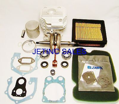 Cylinder Piston Kit Nikasil Fits Husqvarna K760 Crankshaft Bearings Seals