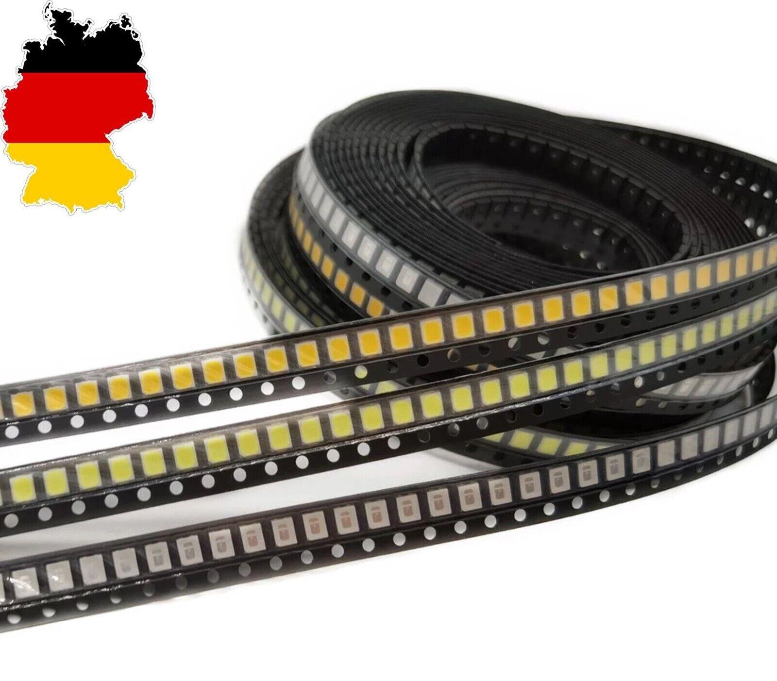 ★50x SMD LED PLCC-2 3528 1210  warm weiß - weiß LED Diode RGB BMW VW Raspberry★