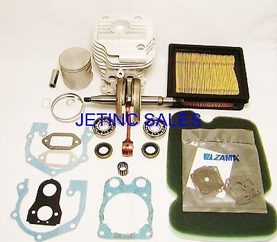 Cylinder Piston Kit Nikasil Fits Partner Husqvarna K750 Wcrankshaft Kit
