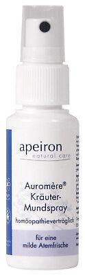 Kräuter-mundspray, 30 Ml, Homöopathieverträglich Gemischt von Apeiron