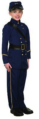 Civil War Soldier Boys Child Historical Military Halloween Costume