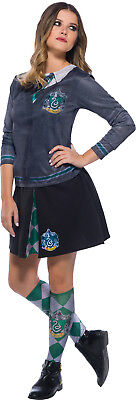 Slytherin Harry Potter Womens Adult Wizard Uniform Costume Top (Woman Wizard Costume)