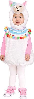 Lovely Llama Girls Toddler Cute Plush Animal Halloween Costume](Adorable Toddler Costumes)