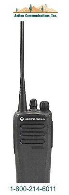 New Motorola Cp200d Analog - Vhf 136-174 Mhz 5 Watt 16 Channel Handheld Radio