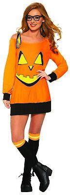 Cute Costumes For Womens (Preppy Pumpkin Womens Adult Cute Halloween)