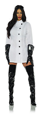 Weird Science Womens Adult Mad Scientist Doctor Halloween Costume