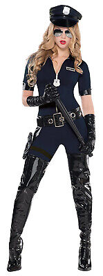 Stop Traffic Womens Adult Sexy Police Officer Halloween Costume - Woman Police Officer Halloween Costumes