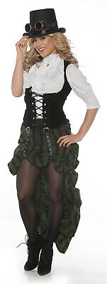Stem Punk Adult Womens Victorian Halloween Costume Outfit