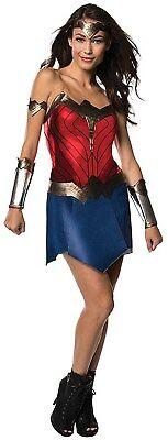 Justice League Womens Wonder Woman Adult Dc Superhero Halloween Costume - Wonderwoman Costum