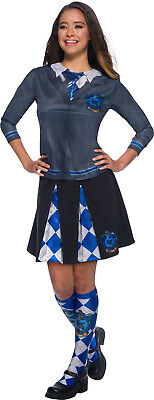 Ravenclaw Harry Potter Womens Adult Wizard Uniform Costume Top (Woman Wizard Costume)