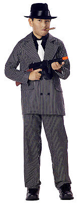 Boys Mafia Gangster Pinstriped Child Zoot Suit Costume (Boys Zoot Suits)
