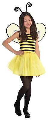 Buzzy Bee Girls Child Cute Bumblebee Insect Halloween Costume](Bee Costumes For Girls)