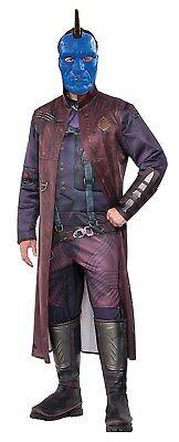Guardians Of The Galaxy Vol. 2 Mens Deluxe Yondu Adult Muscle Chest - Yondu Kostüm