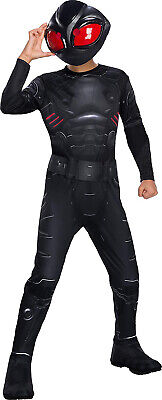 Black Manta Aquaman Movie Dc Villain Boys Child Halloween Costume - Dc Villain Halloween Costumes
