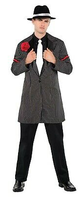 20S Gangster Mens Adult Zoot Suit Thug Halloween Costume - Thug Costumes
