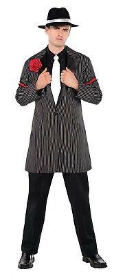 20S Gangster Mens Adult Zoot Suit Thug Halloween Costume Jacket](Zoot Suit Halloween)