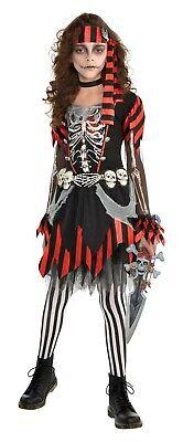Skelepunk Piraten Mädchen Zombie Seeräuber Kinder Halloween - Räuber Kostüme Halloween