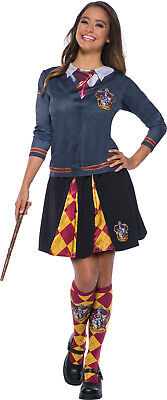 Gryffindor Harry Potter Womens Adult Wizard Uniform Costume Top (Woman Wizard Costume)