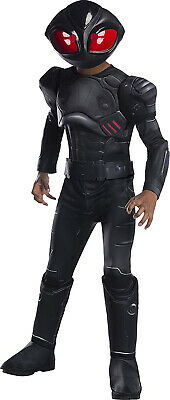 Black Manta Aquaman Dc Villain Deluxe Boys Child Halloween Costume - Dc Villain Halloween Costumes