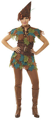 Peter Pan Womens Adult Lost Boy Fairytale Halloween Costume](Pan Halloween Costume)