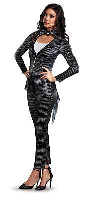 Disney Nightmare Before Christmas Jack Skellington Womens Deluxe Costume](Nightmare Before Christmas Costume)