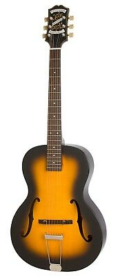 Epiphone Masterbilt Olympic Acoustic Electric Archtop Guitar Violin Burst 2016