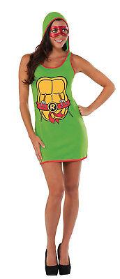 Raphael Teenage Mutant Ninja Turtles Damen Tank-Kleid COSTUME-L