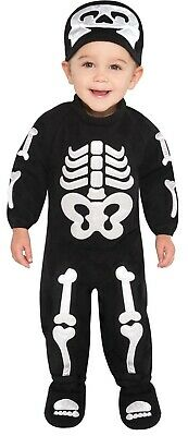 Bitty Bones Boys Infant Classic Cute Skeleton Halloween Costume](Cute Horror Halloween Costumes)