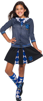Ravenclaw Harry Potter Girls Child Wizard Uniform Costume Top](Girl Wizard Costume)