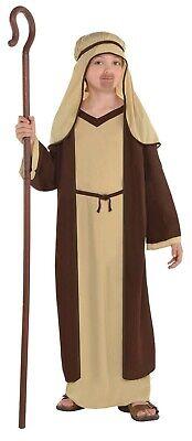 Joseph Boys Child Religious Shepherd Christmas Nativity Scene Costume - Shepherd Costumes