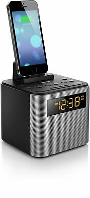 Philips AJT3300/37 Bluetooth Dual Alarm Clock Radio iPhone/Android Speaker Dock