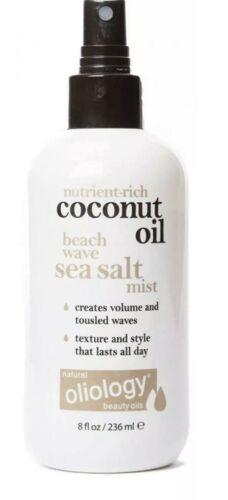 OLIOLOGY~~COCONUT OIL BEACH WAVE SEA SALT MIST FOR YOUR HAIR