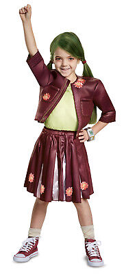Zoey Cheerleader Outfit Klassisch Mädchen Kinder Disney Film Zombie