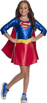 Supergirl Dc Superheld Mädchen Deluxe Kinder Halloween - Deluxe Supergirl Kostüme