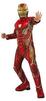 Marvel Avengers - Infinity War - Iron-Man Muscle Child Costume - Iron Man Costume Baby