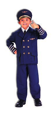 Airline Pilot Boys Child Flight Captain Halloween Costume](Original Baby Halloween Costumes)