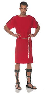 Red Toga Mens Adult Greek Roman Soldier Halloween - Red Toga Kostüm