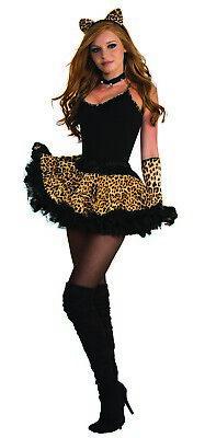 Leopard Damen Erwachsene Wild Tiermuster Kostüm Tutu